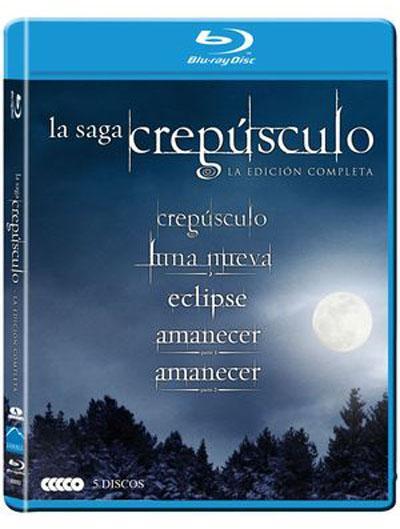 Pack Crepúsculo: La saga completa (Formato Blu-Ray)