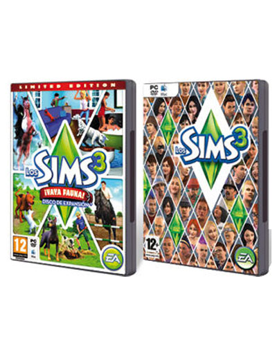 Pack Sims 3 + Vaya Fauna PC